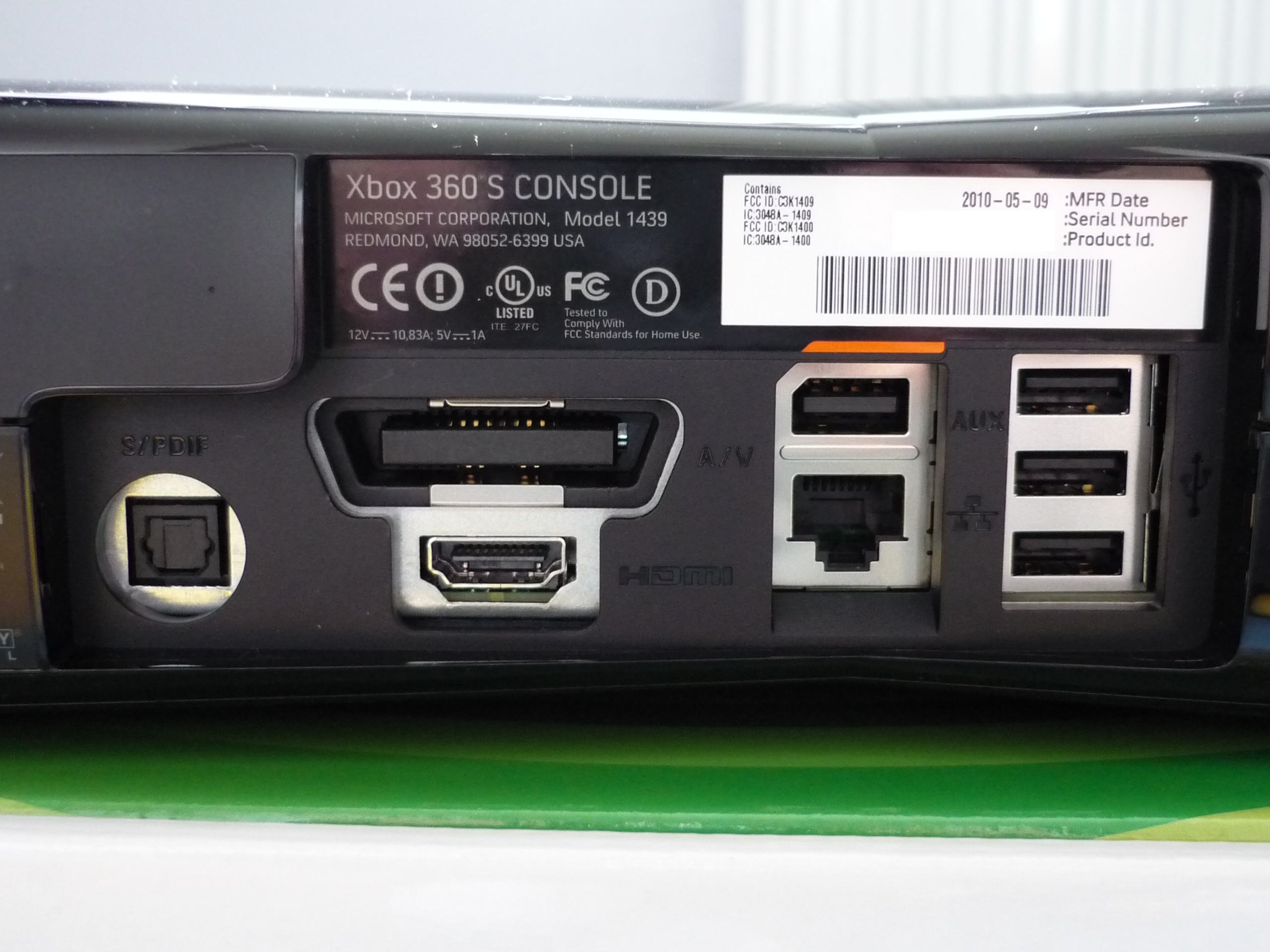 Introducing The Xbox 360 S In Pictures « Emo185's Blog