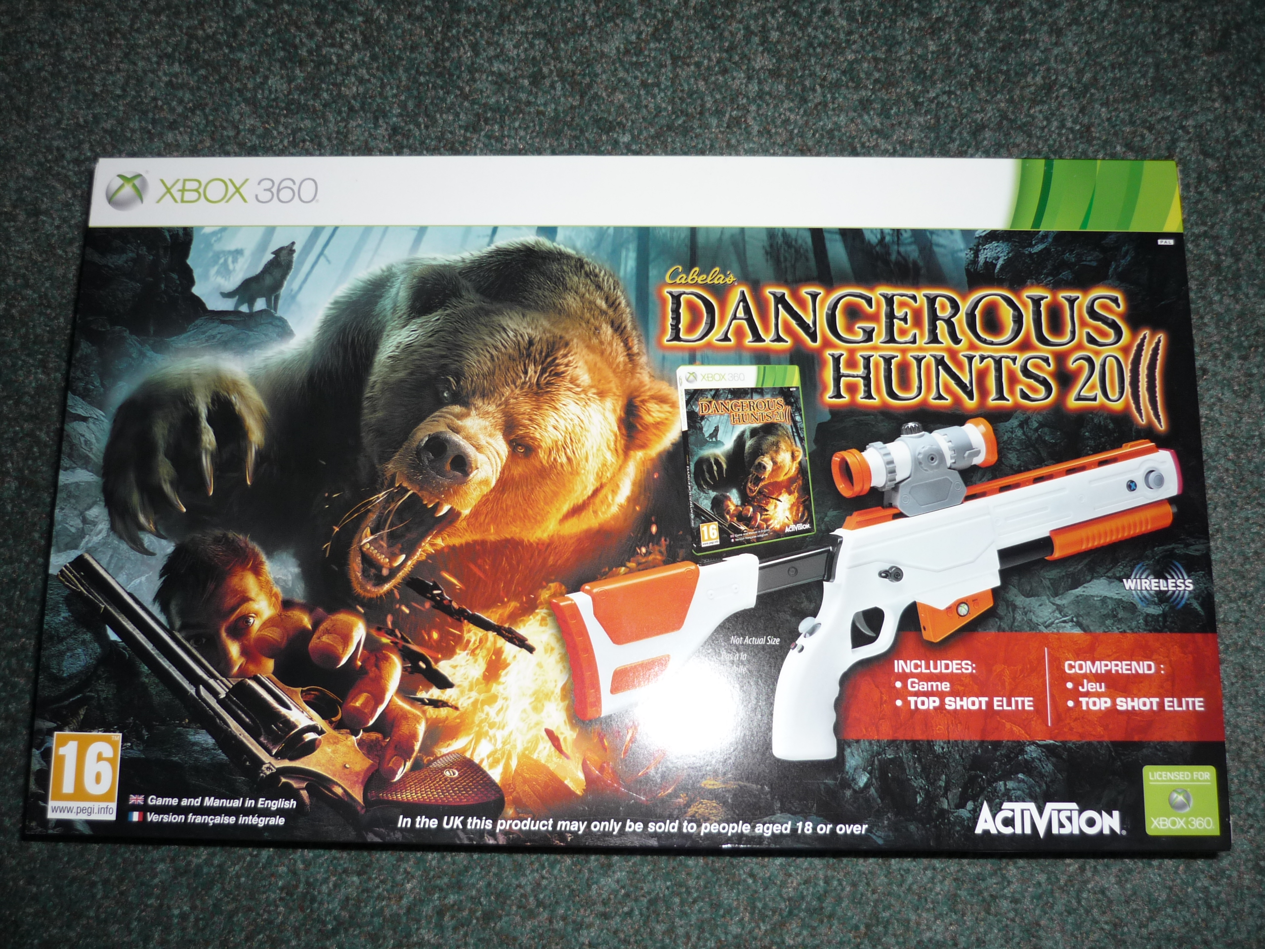 Hunting Games For Xbox 360 : Dangerous hunts unboxing for xbox impressions